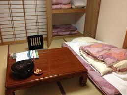 japan style apartment minimalist futon bedroom excerpt