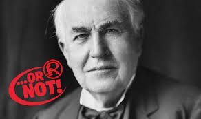 who made the light bulb thomas edison did not invent the light bulb