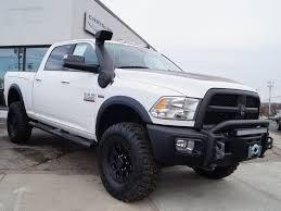 aev jeep hood 2016 ram 2500 big horn crew cab 4x4 aev prospector bright white