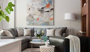 modern furniture small spaces how to make a big sofa work for a small room elites home decor