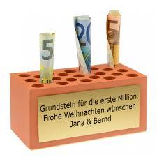verpackung hochzeitsgeschenk geldgeschenk weihnachten grundstein für die erste million euer