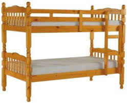 Croydonbeds Couk Bunk Beds - Solid pine bunk bed