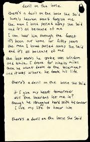 The Basement Lyrics Black River Delta Devil On The Loose