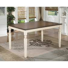 rectangular dining room tables signature design by ashley whitesburg rectangular dining table