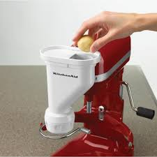 kitchenaid red stand mixers pasta press with feed balls hopper