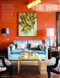 blue and orange decor style edition blog style edition