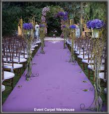 purple aisle runner wedding aisle runner outdoor wedding gallery
