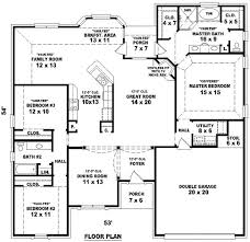 3 bedroom home floor plans tiny house plans 4 bedrooms home act