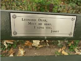 Personalized Park Bench 193 Central Park Benches 1000 Things To Do New York
