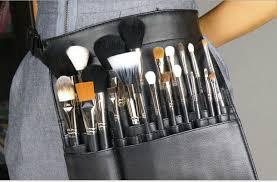 makeup artist belt 2018 22 pockets makeup brush apron bags artist belt holder