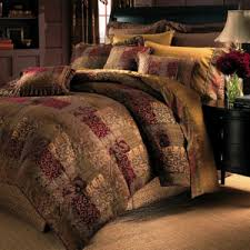Jc Penney Comforter Sets Jcp Croscill Classics Catalina Red 4 Pc Chenille Comforter Set