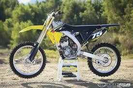 2016 suzuki rm z250 first ride motorcycle usa
