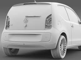 volkswagen up 5 door vw up 3 door 2015 by creator 3d 3docean