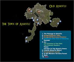 dungeon siege map the town of aman lu maps dungeon siege ii broken