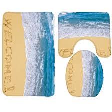 Yellow Bath Mat Teal Bathroom Rugs Soft Microfibre Shaggy Non Slip Absorbent Bath