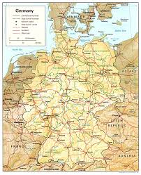 Dortmund Germany Map Download Germany Map 1980 Major Tourist Attractions Maps