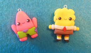 spongebob and patrick tutorial polymer clay youtube