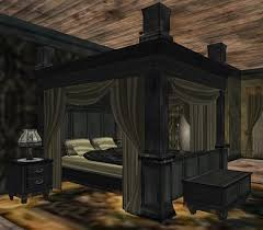 Victorian Bed Set by Second Life Marketplace Onedom What The Heck Grand Victorian