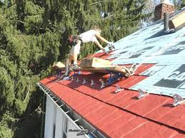 How To Cap A Hip Roof How To Install A Metal Shingles Roof Diy Guide Metalroofing