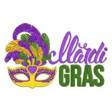 mardi mask mardi gras machine embroidery designs and applique patterns