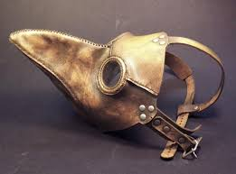 real plague doctor mask seriously strange on in the 16th and 17th century