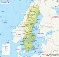 Map Of Northern France by Map Of Sweden