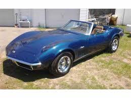 1969 convertible corvette 1969 chevrolet corvette for sale on classiccars com 94 available
