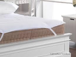 5 hotel quality microfibre mattress topper lancashire textiles