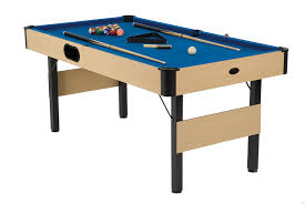 4ft pool table folding potblack mv sports leisure ltd