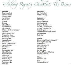 wedding registries with free gifts sle wedding registry checklist 5 ba gift registry checklists