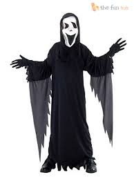 boys howling scream ghost costume childrens halloween party fancy