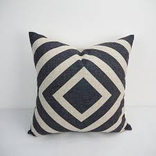 Black and white square decorative pillow covers 50x50 scatter
