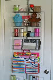 gift wrap storage ideas the door wrapping paper organizer bedroom bathroom kitchen