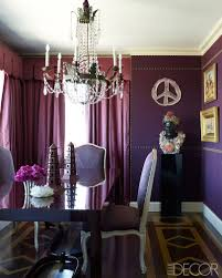 a closer look at six enigmatic colors in home decor upholstered walls with aubergine color