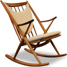 Design Rocking Chair Danish Bramin Rocking Chair In Oak And Teak Frank Reenskaug