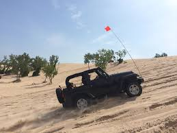 sand dune jeep adventures with frank the tank and a first time wrangler owner