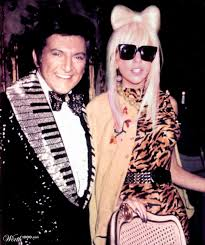 Elton John Halloween Costume Liberace Lady Gaga Photos Impossible Celebrity Couples