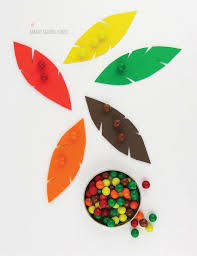 thanksgiving color sorting for