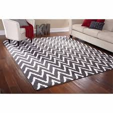 Brown And Gray Area Rug Mainstays Rug In A Bag Distressed Zig Zag Cinder Area Rug Gray