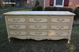 diy dresser diy dresser makeover the 40 thrifted french provincial dresser