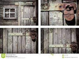 Rustic House Rustic House Wall Background Set Royalty Free Stock Images Image