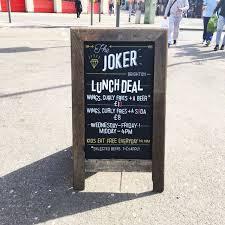 Top 10 Bars In Brighton The Joker Brighton Joker Brighton Twitter