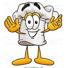 clipart cuisine cuisine clipart of a smiling chefs hat mascot character