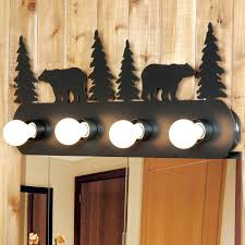 4 Light Fixtures Rustic Vanity Light Fixture 4 Light
