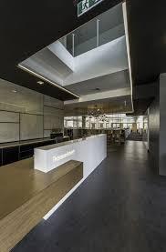 Reception Desk Brisbane Office Tour Thomsonadsett S Collaborative Brisbane Architecture