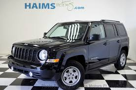 jeep patriot passenger capacity 2017 used jeep patriot sport fwd at haims motors serving fort