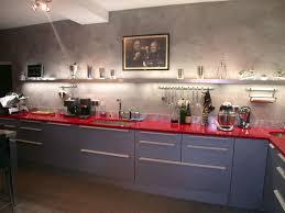 cuisine sur 2 beton cire mur cuisine pour credence gallery of enduit sur carrelage