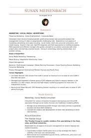 Management Consulting Resume Example by Social Media Consultant Resume Samples Visualcv Resume Samples