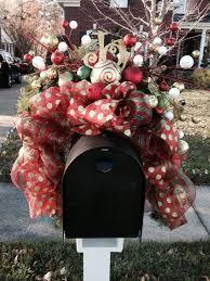 Christmas Mailbox Decoration Ideas 21 Best Christmas Mailbox Decor Images On Pinterest Christmas