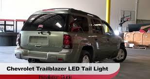 2004 Silverado Tail Lights Spyder Auto Installation 2002 09 Chevrolet Trailblazer Led Tail